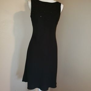 S&L Fashions Little Blk Dress.  SZ 10.